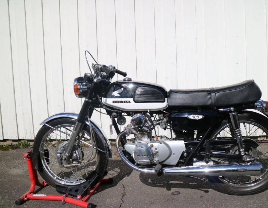 Honda Cb 125 1970 Glomstad Motor